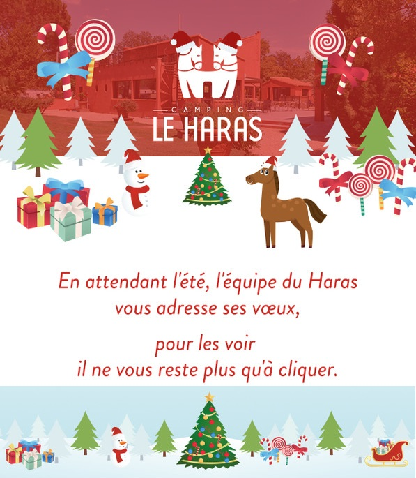 Camping Le Haras wenst 2019 Palau del Vidre vakantiehuis Camping Zuid-West Pyrenees Oriental Middellandse Zee